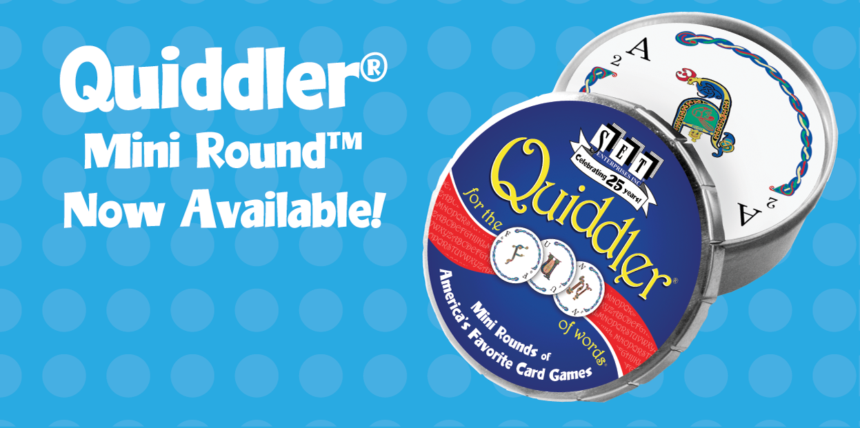 QUIDDLER Mini Round - Now Available!